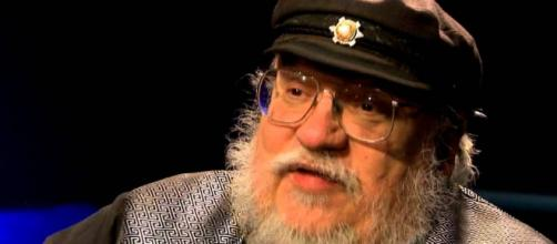 George R.R. Martin George R. R. Martin won't be writing scripts for the 'House of the Dragon.' [image source: New Mexico in Focus/YouTube]