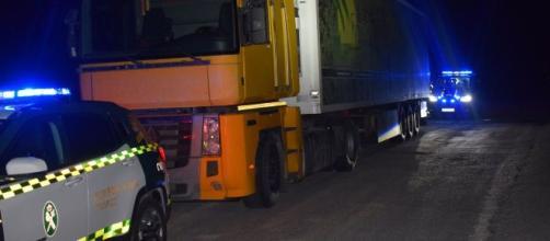 Un camionero conduce de Murcia a Almería con una tasa de alcohol diez veces la permitida