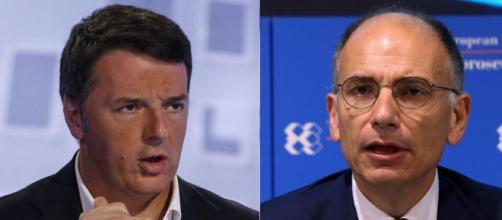 Enrico Letta scatenato contro Renzi ma Feltri lo gela