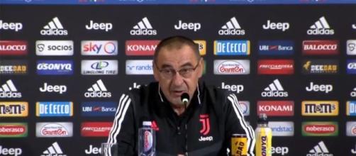 Maurizio Sarri, allenatore della Juventus