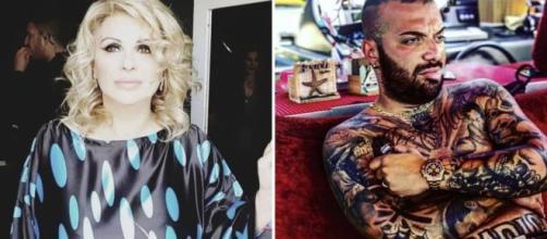 Uomini e donne: dopo la puntata, Damiano 'Er Faina' pubblica la chat con il figlio di Tina Cipollari