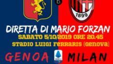 Genoa - Milan 1 -2 : espulsioni, rigori e papere, il Milan batte in rimonta il Genoa