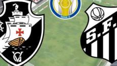 Vasco x Santos: transmissão ao vivo pelo PFC, neste sábado (5), a partir das 17h