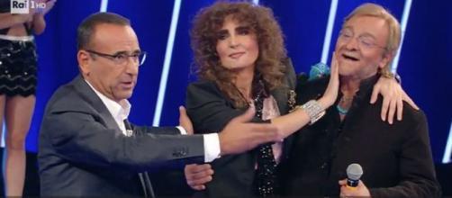 Da sinistra Carlo Conti, Sara Facciolini e Agostino Penna