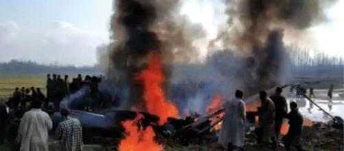 India admits Mi-17 chopper was shot down by own missile on Feb 27 Photo- (Image Credit: NDTV/Youtube)