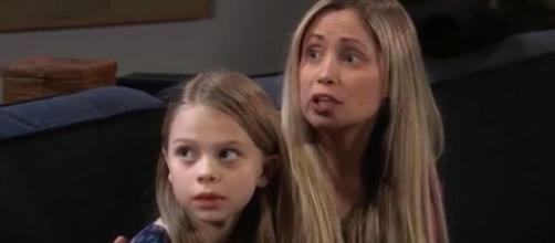 Lulu will have to tell Charlotte that Sasha is not her sister.(Image Source:General Hospital-YouTube.)