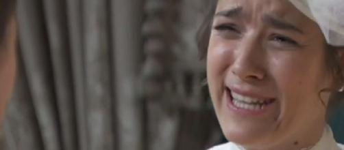 Una Vita, anticipazioni: la Escolano apprende di non essere la figlia del padre di Leonor