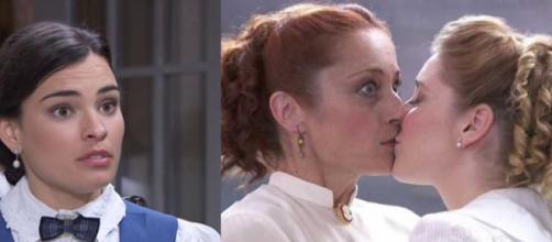 Una Vita, spoiler: Flora bacia Carmen durante lo spettacolo di Leonor e Servante