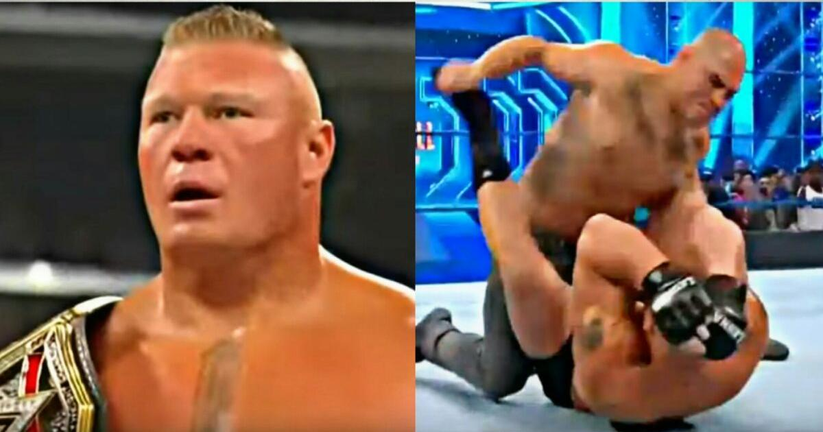 WWE SmackDown: The Rock, Champ Brock interrupted by Cain ...