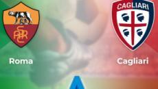 Seriea A, Roma - Cagliari: finita 1-1 la gara all'Olimpico