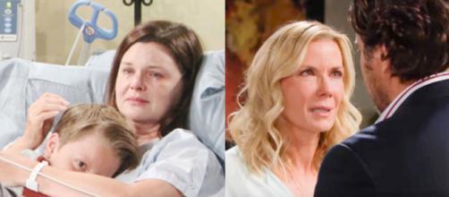 Beautiful, spoiler USA: Flo salva la vita di Katie, Brooke e Ridge in pausa di riflessione