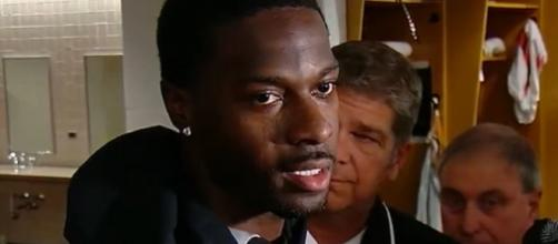 Green remains sidelined this season due to an injury. [Image Source: Cincinnati Bengals/YouTube]