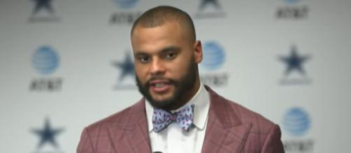 In his first 52 outings, Prescott had a 35-17 mark while Brady tallied a 40-12 record (Image Credit: Dallas Cowboys/YouTube)