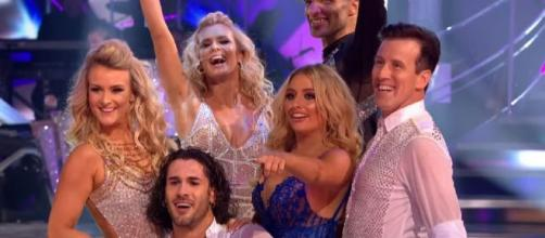 'Strictly Come Dancing': Stars cautious after Kelvin Fletcher's video 'leak'. Image credit:BBC Strictly Come Dancing/Youtube screenshot