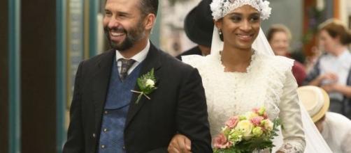 Una Vita anticipazioni spagnole: il marito di Marcia interrompe le nozze con Felipe