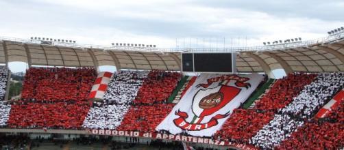 Il Bari vanta il pubblico più numeroso della serie C. Foto- rivistaundici.com