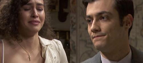 Il Segreto, anticipazioni: Lola disposta a concedersi al fratello di Saul