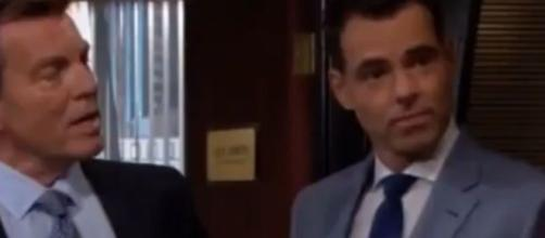 Jack left Billy and Kyle in charge of Jabot.(Image Source:The Young and the Restless-YouTube.)