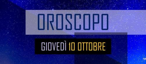 Oroscopo 10 ottobre: tensioni familiari per Toro