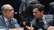 Silêncio de Moro diante das críticas de Gilmar Mendes é aula de refutação, diz colunista