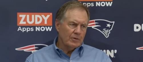 Belichick will face Barkley for the first time if the latter plays on Thursday (Image Credit: New England Patriots/YouTube)
