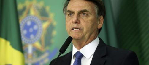 'Esquece o PSL', diz Bolsonaro a apoiador filiado ao partido. (Agência Brasil)