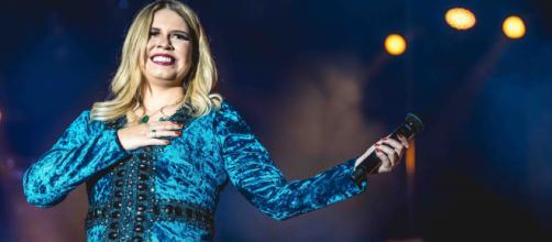 Marília Mendonça fala sobre show em BH. (Arquivo Blasting News)