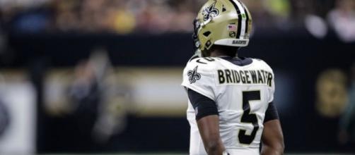 Teddy Bridgewater threw four touchdown passes on Sunday. [Image credit: Instagram/@teddyb_h2o]