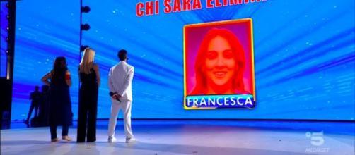 Amici Celebrities, 4^ puntata: Francesca Manzini è l'eliminata