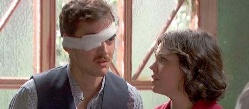 Il Segreto anticipazioni: Matias accetta di subire un difficile intervento all'occhio