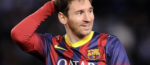 O jogador argentino Lionel Messi. (Arquivo Blasting News)