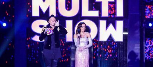 A apresentação da cerimônia de entrega da premiação ficou por conta de Paulo Gustavo e Anitta. (Arquivo Blasting News)