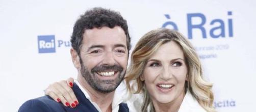 Alberto Matano e Lorella Cuccarini, conduttore de La vita in diretta