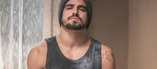 Caio Castro vive Rock, em 'A Dona do Pedaço'. (Divulgação/ TV Globo)