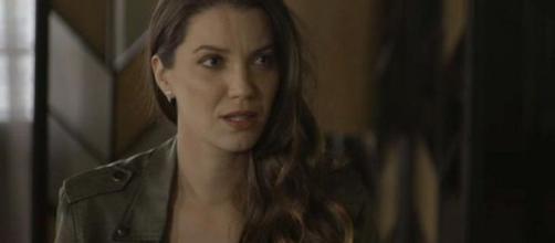 Fabiana tenta emprego com Vivi, mas não dá certo. (Reprodução/TV Globo)