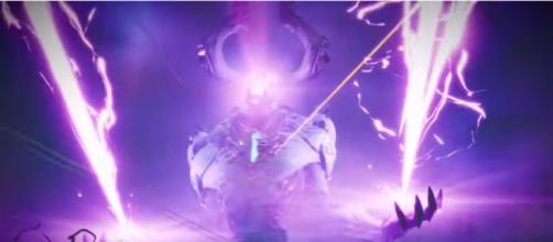 Just be patient with this beast. [Image source: Fortnite/YouTube]