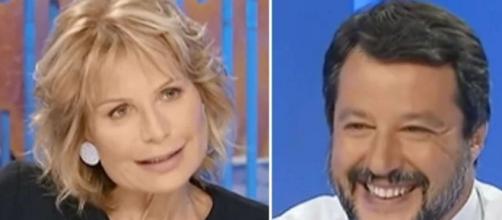 Lilli Gruber critica nuovamente Matteo Salvini