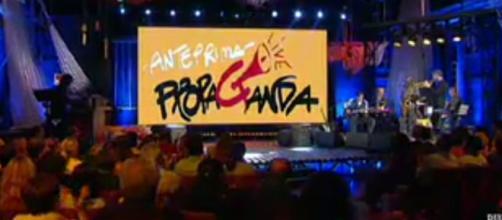Lo studio di 'Propaganda Live'