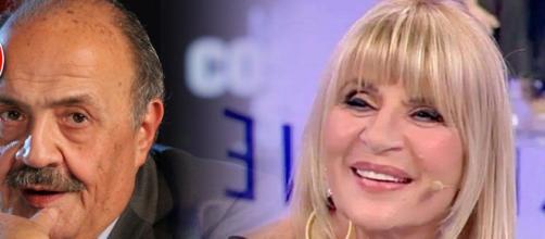 Maurizio COstanzo difende la presenza di Gemma Galgani a 'Uomini e Donne'