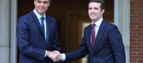 Pedro Sánchez niega la posibilidad de una gran coalición con el PP