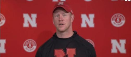 Scott Frost wants his team to be tougher and that's drawn snickers, nationally. [Image via Nebraska Huskers/YouTube]