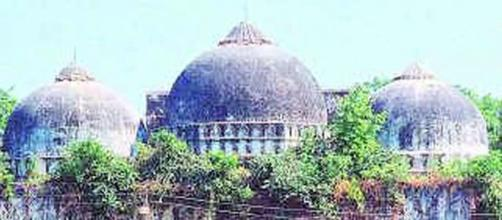 The Babri Masjid land built on ruins of Hindu temple was awarded to Hindus by SC-Photo-image credit -BBC/youtube)