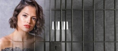 Yohana e Camilo prendem Josiane. (Reprodução/TV Globo)