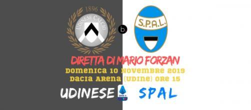 Dalla Dacia Arena in diretta Udinese - SPAL per il campionato di SERIE A. Fischio d'inizio alle ore 15
