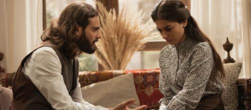 Il Segreto, spoiler 11 novembre: Elsa confessa a Isaac di essere gravemente malata