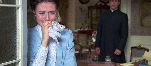 Una Vita, anticipazioni spagnole: Celia è molto malata mentre Lucia cerca rifugio da Telmo