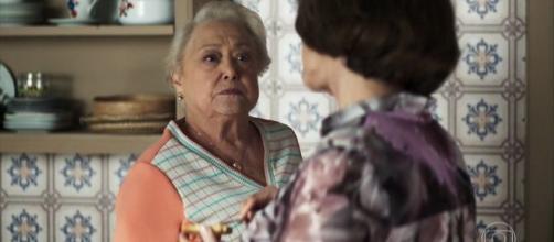 Evelina mentirá sobre Jô mas Marlene não deixará barato. (Reprodução/Rede Globo)
