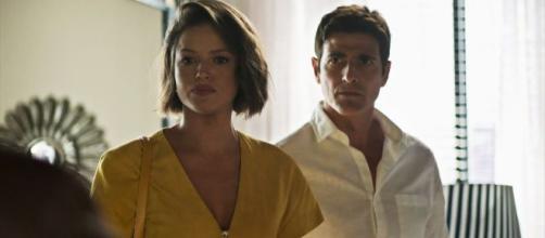 Ex-amantes vão parecer redimidos na reta final. (Reprodução/TV Globo)