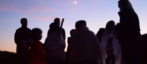 La lanternata di San Martino, un'iniziativa che ricorre l'11 novembre.