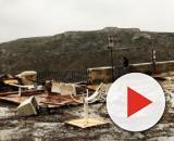 Matera, alluvione in città e sui Sassi:venti a 150 km/h